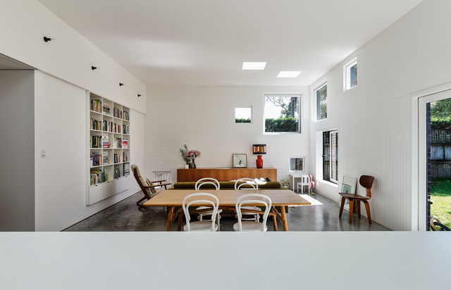 House boone murray contemporary dining room sydney - Maison boone murray tribe studio architects ...
