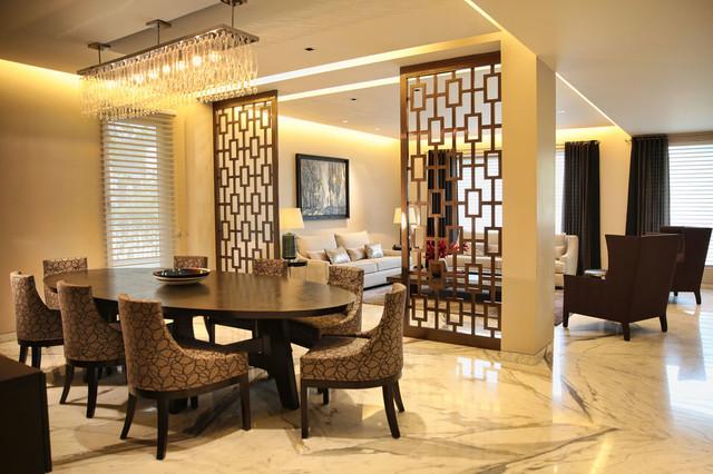 House In Gk 1 New Delhi India Modern Dining Room