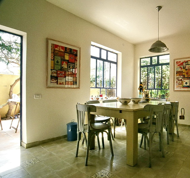 house in ramat israel eclectic-dining-room