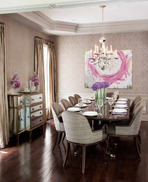 Traditional Dining Room by Toronto Architects & Designers Merigo Design