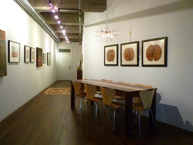 Houston Loft Dining Room