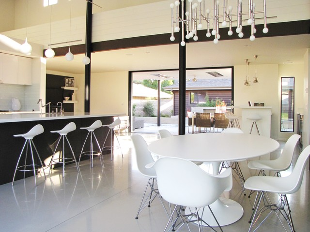 Houzz Tour A Labor Of Modern Love In Costa Mesa Midcentury Dining Room Orange County By