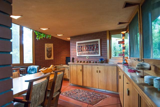 Modern Dining Room by Adrienne DeRosa