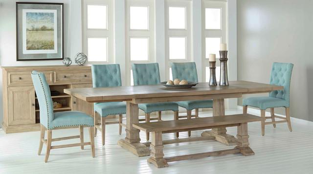 Hudson beltran dining set rustic dining room miami by el dorado furniture - Dining room sets miami ...