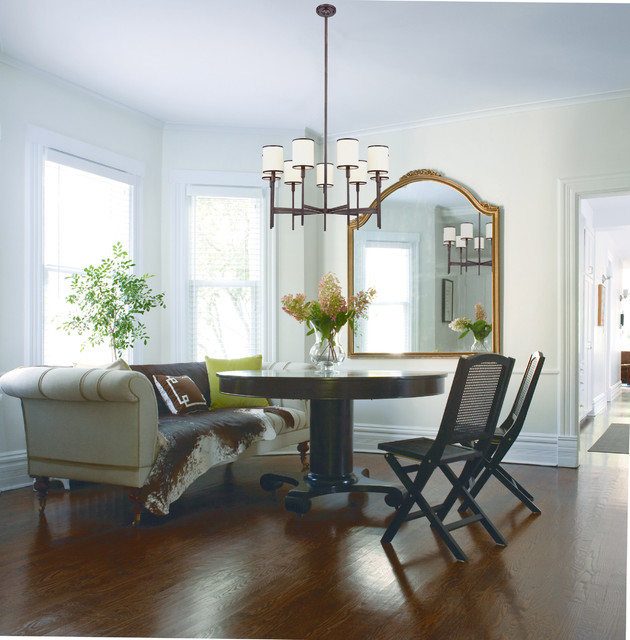 Farmhouse Kitchen Chandelier: Hudson Valley 629-OB Aberdeen Old Bronze 9 Light