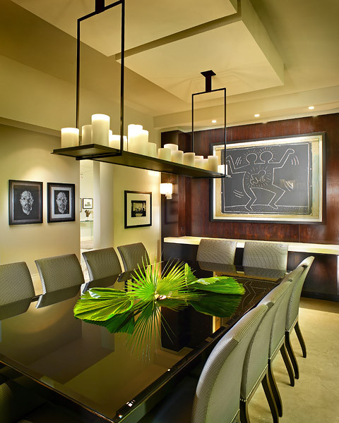 Hughes Cove Residence contemporary-dining-room
