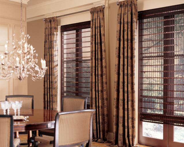 Hunter Douglas Provenance traditional-dining-room