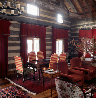Hunting Lodge - Oxford, Maryland - Rustic - Dining Room - DC Metro ...
