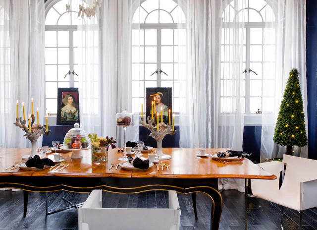 Huntley Co Interior Design Eclectic Dining Room New York By Rikki Snyder
