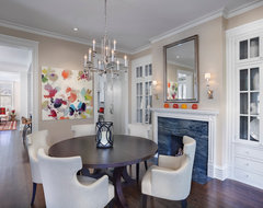 Hyde Park Renovation contemporary dining room