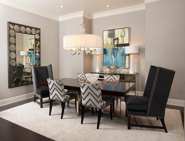 IBB Design Transitional Dining Room Dallas By IBB