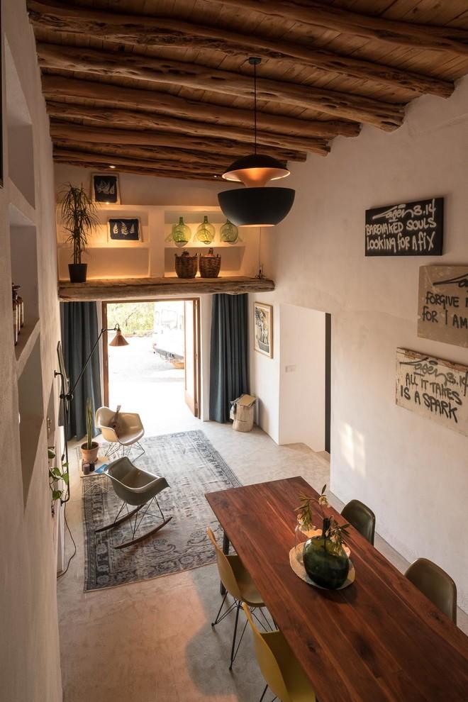 餐厅地中海风格效果图大全2017图片_土拨鼠清新个性餐厅地中海风格装修设计效果图欣赏