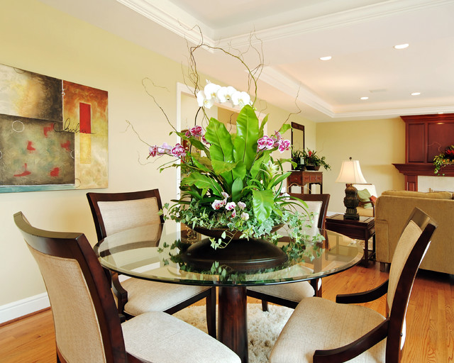 Dining Rooms Dining Room Lighting Ideas And Arrangements: Ideas For Staging Home With Plants & Living Arrangements