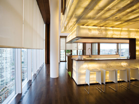 Ideas for window treatments for Modern dining room window treatments