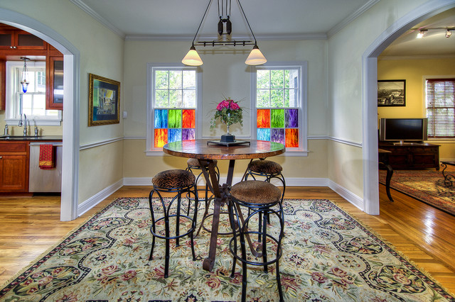 Imaging Austin traditional-dining-room