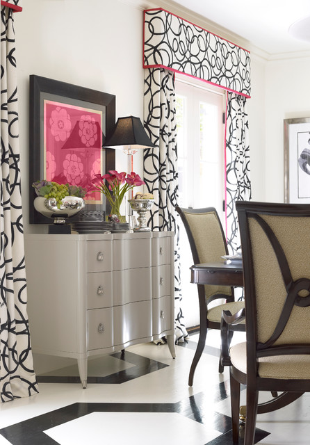 in atlanta homes with thomasville furniture eclectic dining room atlanta. Black Bedroom Furniture Sets. Home Design Ideas