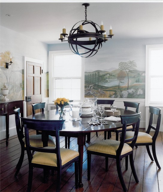 In The Country traditional-dining-room