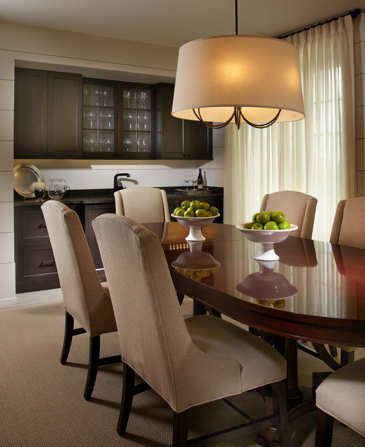 Indian river retreat traditional dining room miami for Indian dining room decor