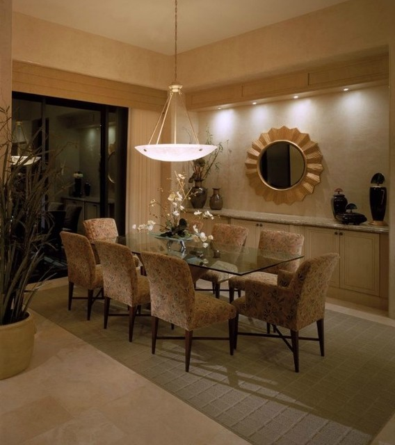 dining room designs pictures | Indian Wells Country Club - Contemporary - Dining Room ...
