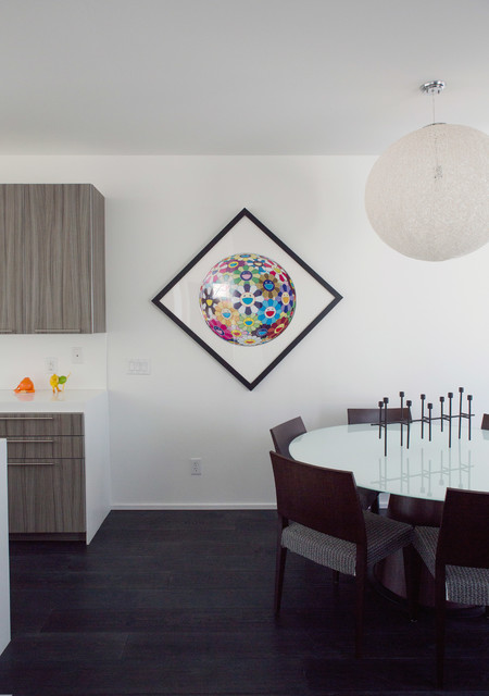 indianapolis modular home modern dining room