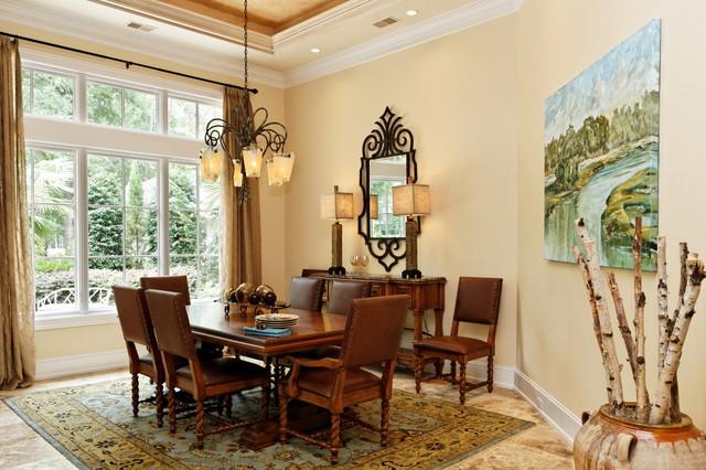Indigo Run traditional-dining-room