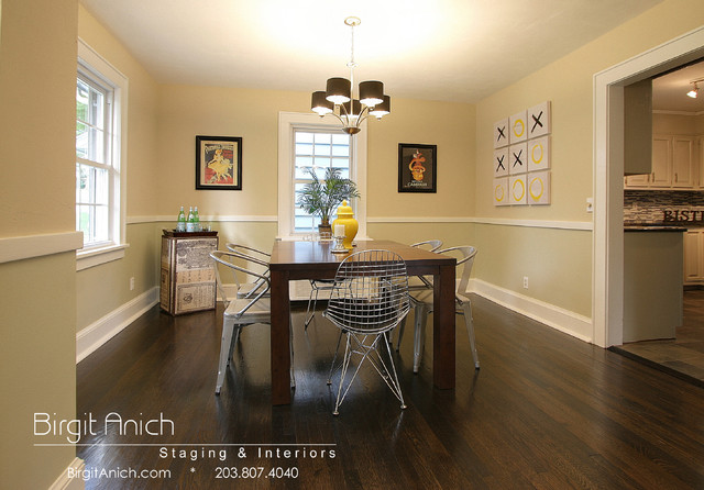fun dining rooms | Industrial dining fun - Dining Room - bridgeport - by ...