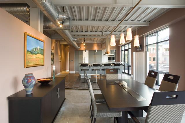 Industrial Dining Room industrial-dining-room