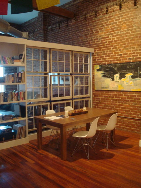 Castleberry Hill Loft contemporary dining room