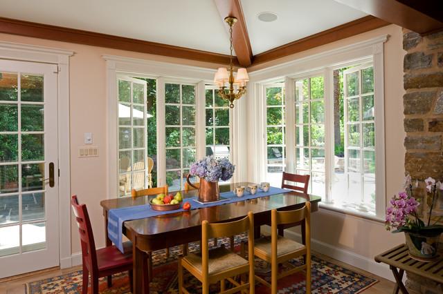 Informal Dining Room Traditional Dining Room