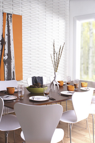 modern dining room Inhabit Wall Flats - design public