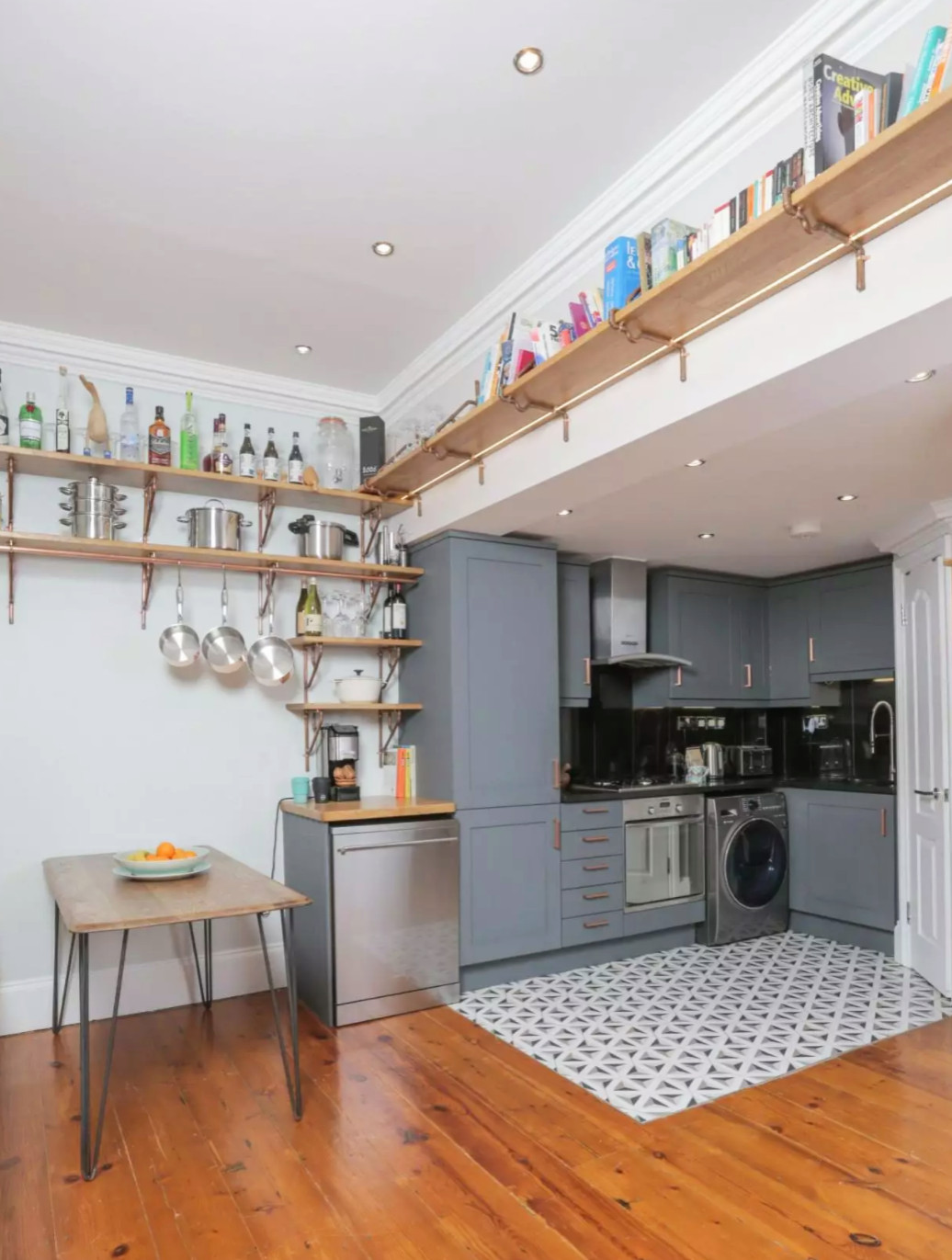 Inside an Islington live-work home