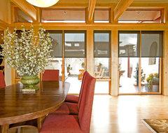 Insolroll Interior Solar Shade traditional-dining-room