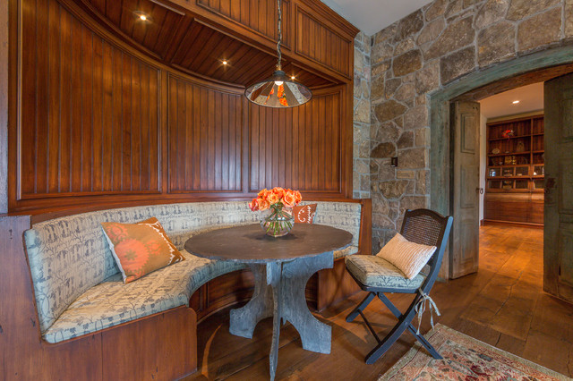Inspired French Country Farmhouse Rustic Dining Room