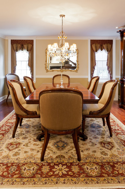 Inspiring Window Treatments traditional-dining-room