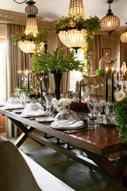 Interior Decor & Design traditional-dining-room
