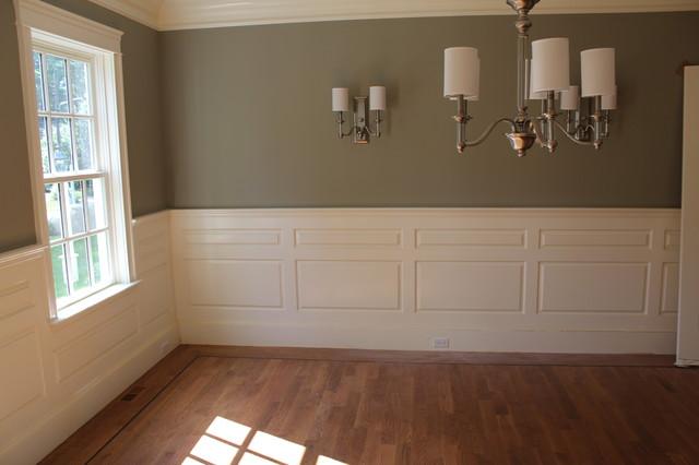 Interior Finish Carpentry Traditional Dining Room