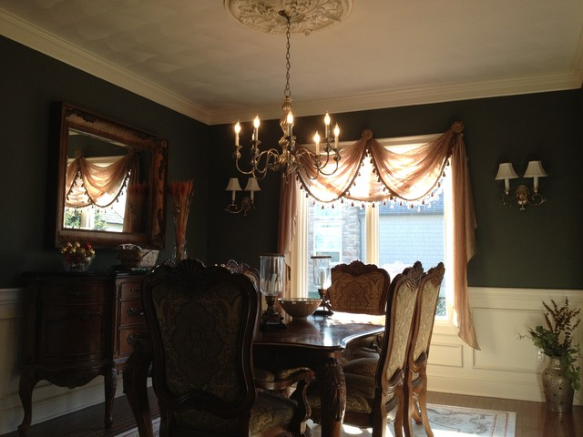 Interior painting projects traditional-dining-room