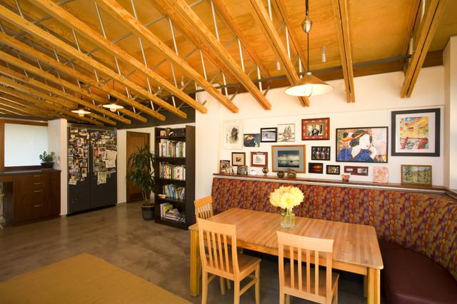 Interior industrial-dining-room