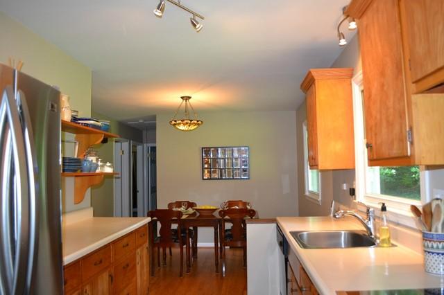 Interior staging craftsman-dining-room