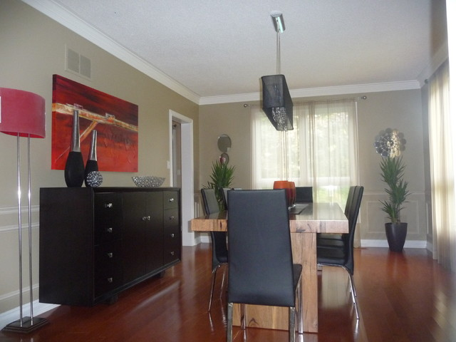Interior Style Solutions contemporary-dining-room