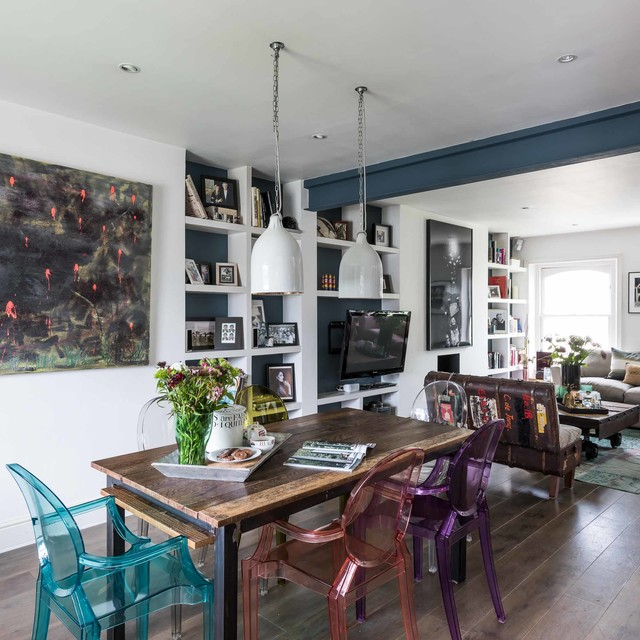 Interior styling 7 eclectic dining room london by for Interior stylist london