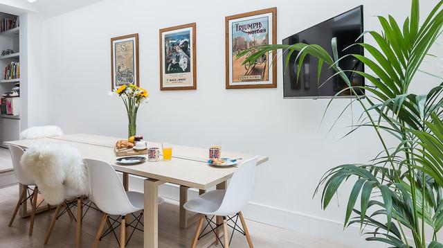 Interior styling scandinavian dining room london for Interior stylist london