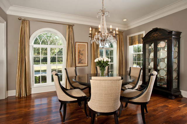 INTERIOR traditional dining room