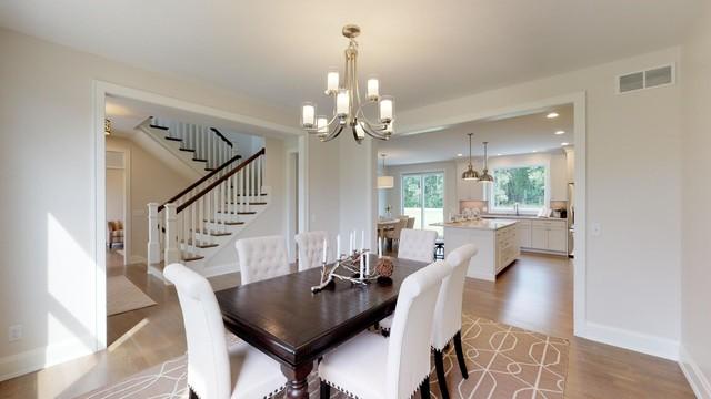 Interior Windamere Estate Home farmhouse-dining-room