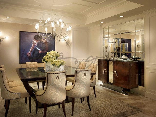 Interiors By Steven G Contemporary Dining Room Miami