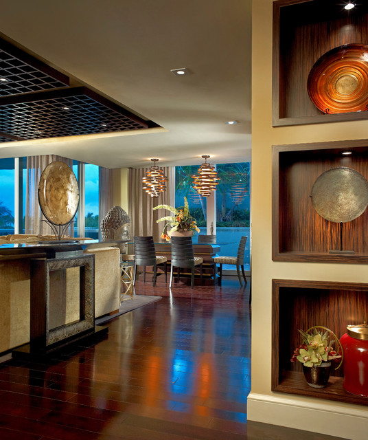Interiors by steven g asian dining room miami by for Steven g interior designs