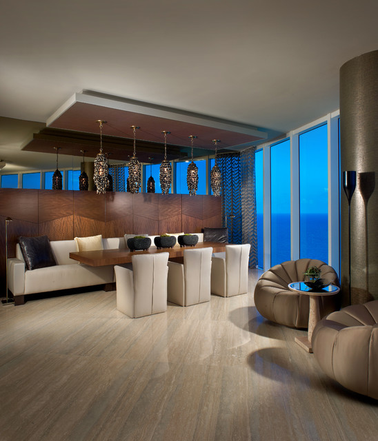 Interiors By Steven G Contemporary Dining Room Miami By Interiors By Steven G
