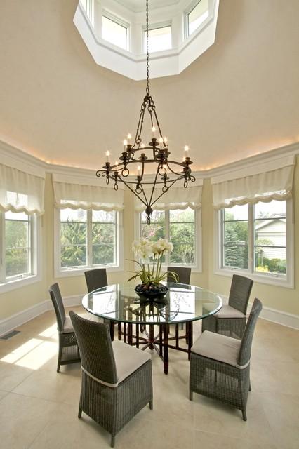 Interiors beach-style-dining-room