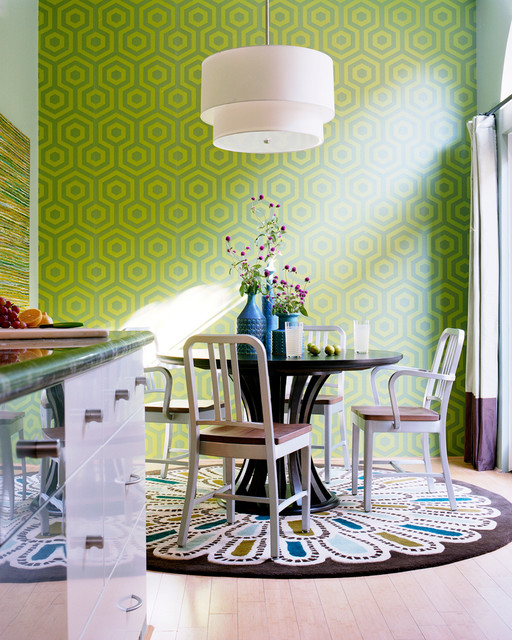 Transitional Dining Room By Kyle Schuneman