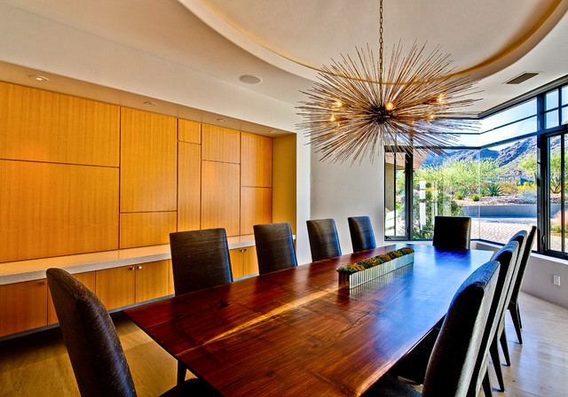 Ironwood Estate Redux contemporary-dining-room